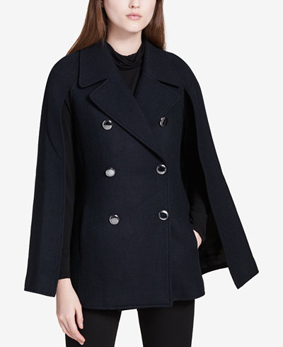 calvin klein cape coat