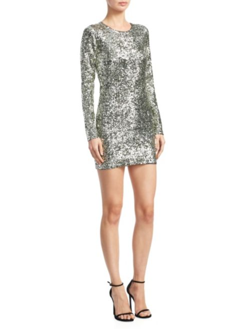 ALC Aliya Sequin Mini Dress