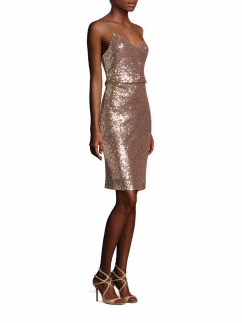 Jenny Yoo Emery Sequin Tulle Dress