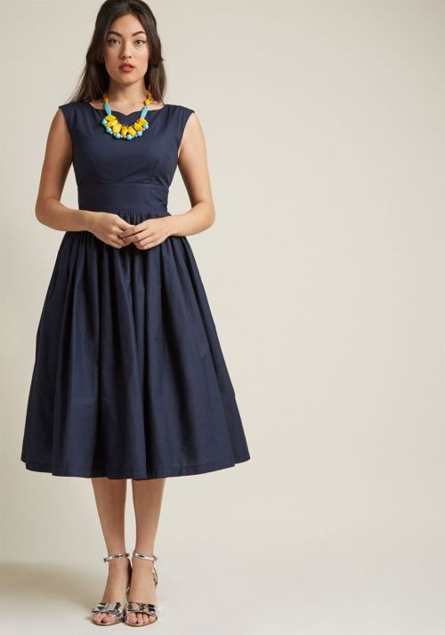 Modcloth Fit and Flare Dress