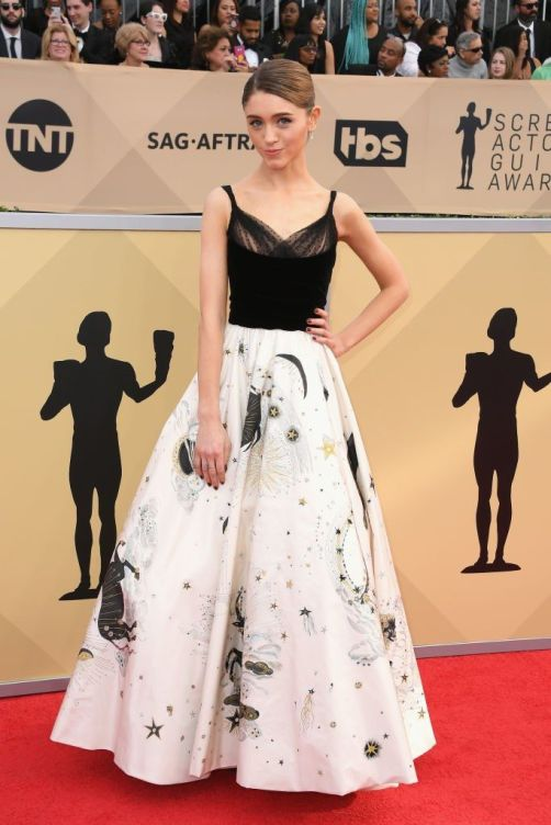 Natalia Dyer SAG Awards